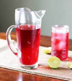 Recipe: Cold Brew Jamaica (Hibiscus Iced Tea) you can COLD BREW jamaica -- my world is changed! p.s. i like it just fine with no sugar, nice n tart