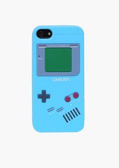 Game Boy iPhone 5 Case in Blue