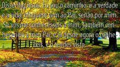 Orações Em Correntes: João 14:6-7