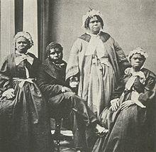The last Tasmanian Aborigines