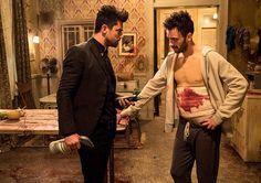 'Preacher' Recap: ''No means yes' in multiples. Got it, sir. Preacher Amc, Joseph Gilgun, Tv Writing, Matthews Rhys, Real Vampires, Dominic Cooper, Tv Reviews, Tv Episodes, Cool Cartoons