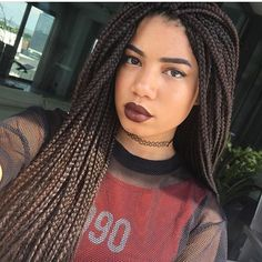 Box braids #healthy_hair_journey