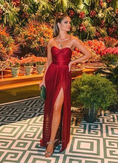 Sexy Burgundy Strapless Side-Slit A-Line Long Prom Dresses Sexy Burgundy Strapless Side-Slit A-Line Long Prom Dresses <br> Long Prom Dresses Uk, Cheap Prom Dresses Online, Strapless Prom Dresses, Gala Dresses, Event Dresses, Sexy Dresses, Dress Outfits, Party Dresses, Red Bridesmaid Dresses