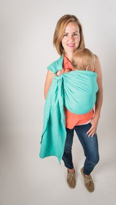 Modern ring slings are a must have accessory for every parent