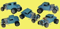 Ford Model A Coupe Paper Car Free Vehicle Paper Model Download