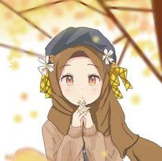 Doremon Cartoon, Cartoon Girl Images, Girl Cartoon Characters, Hijab Cartoon, Cute Cartoon Pictures, Cartoon Girls, Anime Chibi, Anime Art, Islamic Cartoon