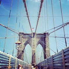 Brooklyn Bridge, NYC by a midwest girl, via Flickr