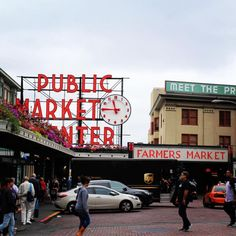 Seattle's Pike Place Market - The Top Instagrammed Design Destinations In The U.S. - Photos