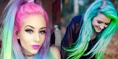 New Sand Art Hair Trend Will Give You My Little Pony Hair IRL!   - Seventeen.com