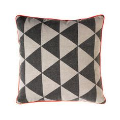 General Eclectic Triangle Cushion | Iko Iko, the most exciting shop for gifts, homewares, accessories and more.