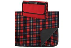 Picnic Blanket Tote, Red Plaid on OneKingsLane.com