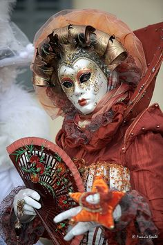Venetian Mask- I want to go to carnivale !