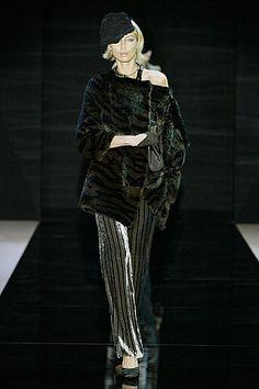 Armani Prive Fall 2005. Couture.  FURRR