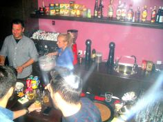 bar greek night