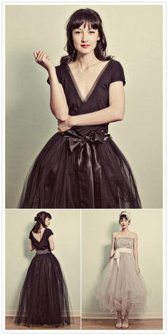 Bridesmaid dress idea? Only shorter skirt though