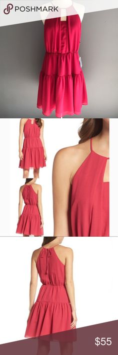"""Chelsea28 Pink Fit & Flare Summer Coctail Dress M Brand new with tags. Size M. Length 37"""", Bust 19"""". Perfect Lightweight dress! Chealsea28 Dresses"""