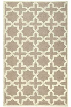 We love the two-tone star and cross design of Home Decorators Collection (@Home Decorators Collection) Cheshire Rug!