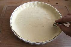Zelf taartdeeg maken voor heerlijke quiches, e.d.