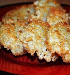 tortitas de arroz y guisantes