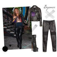"""""""Beyonce"""" by la-fashionata on Polyvore Beyonce, Leather Pants, Polyvore, Fashion, Moda, La Mode, Lederhosen, Fasion, Leather Leggings"""
