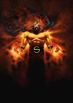 NoMoreMutants — The Destroyer of Asgard and Ares! Go read the. Marvel Comics Art, Marvel Vs, Marvel Heroes, Anime Comics, Marvel Jokes, Captain Marvel, Marvel Comic Character, Comic Book Characters, Marvel Characters