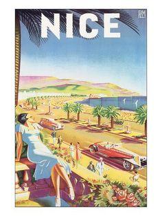 Tene Sorrento Italy Poster Art Print Skyline Europe Landscape