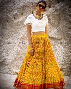 Ethnic Fashion, Indian Fashion, Indian Dresses, Indian Outfits, Cotton Skirt, Lace Skirt, Kurti With Jeans, Bollywood Fashion, Bollywood Style