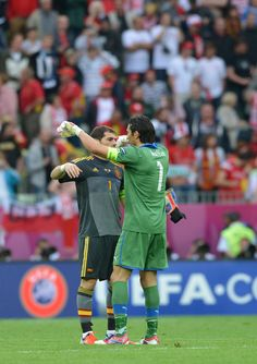 buffon / casillas _ EURO2012  Best of the Best