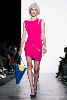 The designer, who also holds the creative reigns at Moschino, shows his spring…