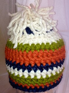 036833ad851 Items similar to Super bulky crocheted boy hat on Etsy