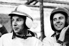 John Surtees and Jim Clark   1963 German Grand Prix