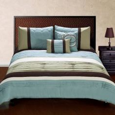 Check out the Hallmart Collectibles 49765 Jackson Queen 5 Pieces Comforter Set priced at $109.99 at Homeclick.com.