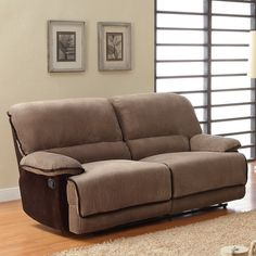 This brown corduroy sofa from Selena is the perfect addition to a living room or den. The pine and plywood frame is covered in polyurethane foam and brown corduroy, giving you a comfortable seat that is as attractive as it is functional.