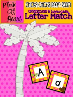 Chicka Chicka Boom Boom Uppercase and Lowercase Matching Activity from kac2877 from kac2877 on TeachersNotebook.com (12 pages)  - PDF - 26 matching pairs, great for sorting!