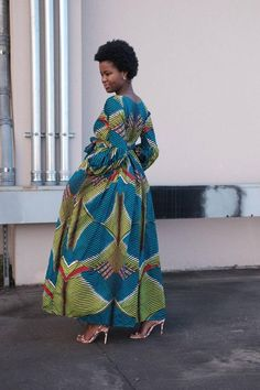 African Maxi Dresses, Ankara Dress Styles, Ankara Skirt, African Outfits, African Dresses For Women, African Attire, African Wear, African Style, African Inspired Fashion