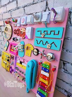 Sensory board Busy board Montessori toy Wooden toy Latch board | Etsy