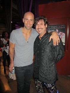 """Glenn Pakulak from Bravo TV's """"Most Eligible Dallas"""" with US Weekly contributor and entertainment reporter, Steve Kemble."""