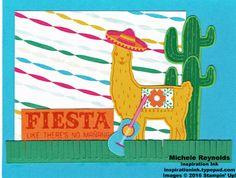 Birthday Fiesta Guitar Llama Fiesta