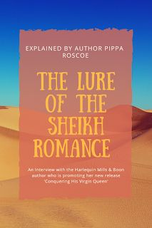 Mariawriter Book Blog: What's the Lure of the Sheikh Romance? Asking Auth...