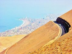 route 5--road from Arica to Iquique