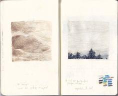 art notebook sketchbook artist Joanna Concejo