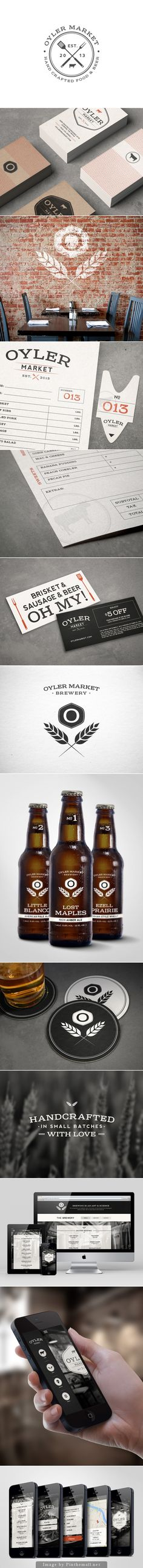 Oyler Market #branding #identity