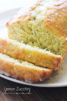 Хлеб лимонного цуккини