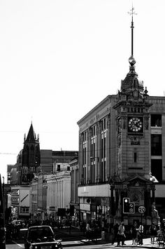 The Clock Tower looking down West Street Time In England, Brighton England, New Brighton, Brighton And Hove, Best Places To Live, Places To See, Wales, Images Of England, Rule Britannia