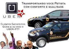 UberPT, você conhece? #16AgoEuVou #ImpeachmentDilma #ImpeachmentToffoli #ForaDilma #ForaPT #VemPraRua16Ago #VemPraRua