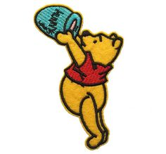 Pooh Iron On Patch 5 Pieces Winnie the Pooh by BeeInspiredCrafts