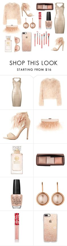 """""""Untitled #94"""" by oliviaboston ❤ liked on Polyvore featuring Hervé Léger, Alexander McQueen, Cape Robbin, BCBGMAXAZRIA, Tory Burch, OPI, Dyrberg/Kern, Lime Crime, Casetify and Bdellium Tools"""