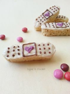 Doc McStuffins BandAid Rice Krispie Treats 12 by KnotTheOrdinary, $11.90