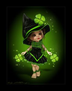 ideal crissy family dolls CLICK VISIT link to see more - Caring For Your Collectable Dolls. baby dolls for 4 year old girls Elfen Fantasy, Fantasy Art, Leprechaun, Good Luck Spells, St Patricks Day Wallpaper, Sweet Magic, Irish Blessing, Witch Art, Little Designs