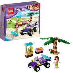LEGO 41010 Friends: Olivias Strandbuggy  http://www.meinspielzeug24.de/lego-41010-friends-olivias-strandbuggy  #LegoFriends, #Mädchen #BaukastenKunststoffbausteine, #Spielwaren